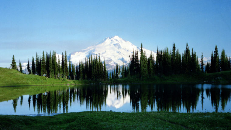 Glacier Peak Wilderness:  Northern Cascade Mountains in Northern Washington State  Friday, August 7th, 1987. About 4:30 PM