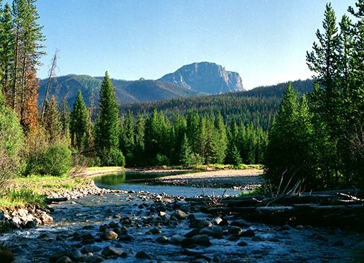 Absaroka Wilderness, Montana   August 1 -10, 1989
