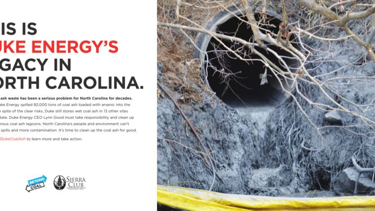 Sierra Club launches ads against Duke Energy