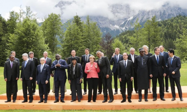 G-7 Leaders Call for Elimination of Fossil Fuels