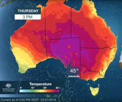 Two Updates: Australia Heat and Pentagon Warning
